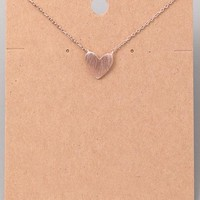Only Love Necklace - Rose Gold
