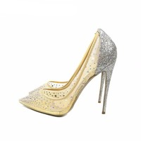 Mesh Heels - Stiletto Pumps