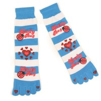 Women's / Teen Girl Fun and Funky Toe Socks (Fits Ages 13+)