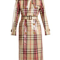 Laminated cotton-blend gabardine trench coat | Burberry | MATCHESFASHION.COM US