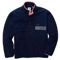 EXCLUSIVE Old Glory All Prep Pullover in Navy by Southern Proper