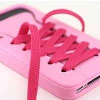 ladylove — cute iShoes Silicone iPhone 4/4S/5 Case