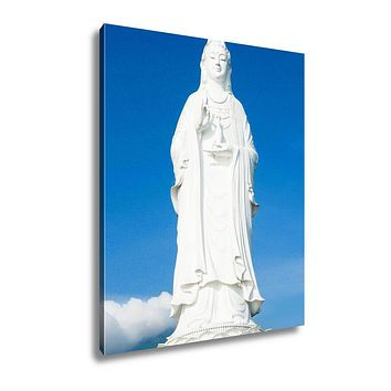 Gallery Wrapped Canvas, The Statue Of Buddha In Linh Ung Pagoda Da Nang Vietnam