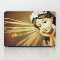 Daydreamer - Vintage Angel iPad Case by Legends Of Darkness Photography