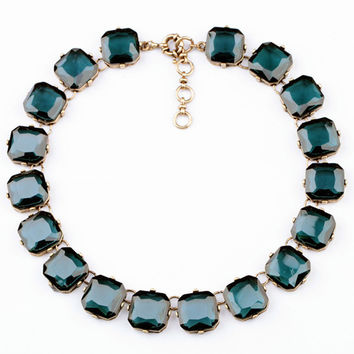 Crystal Statement Necklace   Two Colors
