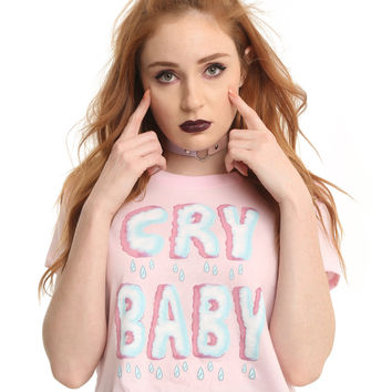 Melanie Martinez Cry Baby Crop Top
