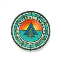 National Park Sunrise Patch