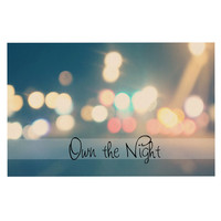 "Beth Engel ""Own The Night"" Decorative Door Mat"