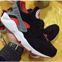 Nike Drops the Air Huarache Ultra Sports shoes Black-white-red