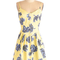 ModCloth Spaghetti Straps A-line Spring it All to Me Dress