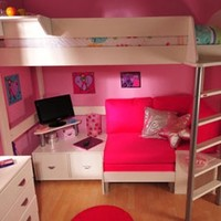 Stompa Casa 9 Bunk Bed with Sofa Bed