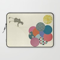 Party Girl Laptop Sleeve by Cassia Beck