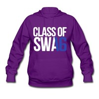 CLASS OF SWAG (2016) blue with no bands Hoodie