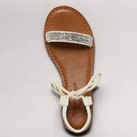 AEO Beaded Rope Gladiator Sandal   American Eagle Outfitters