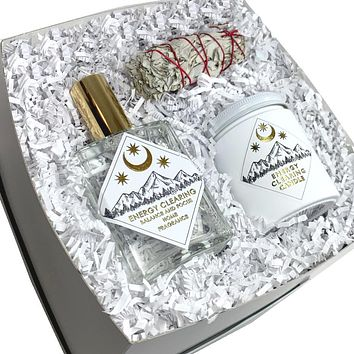Energy Clearing Room Fragrance Gift Set