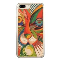 Geometric Abstract Animals Art iphone 6 plus Carved iPhone 7 Plus Case