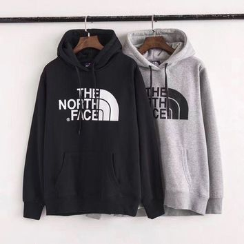 The North Face Men Winter Outwear Hoodie Black/Grey