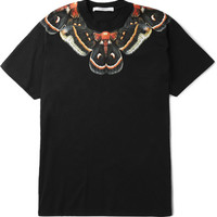 Givenchy - Printed Cotton-Jersey T-Shirt | MR PORTER