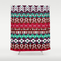 Mix #520 Shower Curtain by Ornaart   Society6
