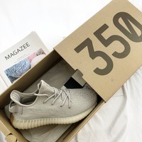 "Adidas Yeezy Boost 350 V2 ""Sesame"" Sneakers"