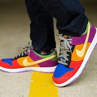 NIKE SB ZOOM DUNK HIGH PRO low help all men and women skate shoes