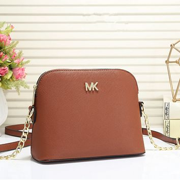 MK Women Shopping Bag Leather Chain Satchel Shoulder Bag Crossbody