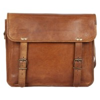 Rustic Town Handmade Leather Vintage Messenger Bag