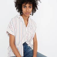 Central Shirt in Sadie Stripe : shopmadewell button-up & popover shirts | Madewell