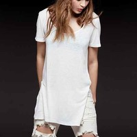 Silence + Noise Side-Slit Perfect Tee-