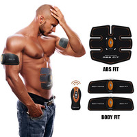 ABGymnic AB Gymnic Electronic Body Muscle Arm Waist Abdominal Massage Exercise Toning Belt Slim Abdominal trainer Machine Belt