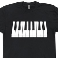 Piano T Shirt Piano Keys Shirt Cool Piano Shirt Vintage Keyboard T Shirt