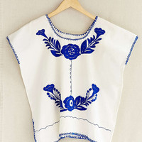 Vintage Traditional Embroidered Top - Urban Outfitters