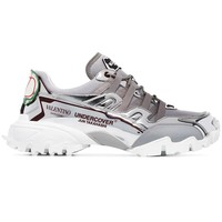 """Undercover Jun Takahashi"" Silver Sneakers by Valentino"