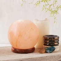 Globe Salt Rock Lamp