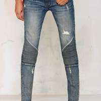 Cult of Individuality Roadside Attraction Moto Jean - Light Wash