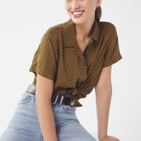 UO Dolores Button-Down Top | Urban Outfitters