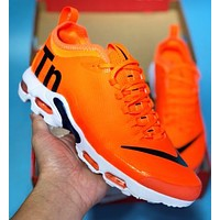 NIKE MERCURIAL TN New fashion hook print men shoes Orange