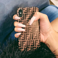 Fendi Double F-letter mobile phone case