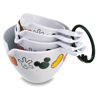 Disney Best of Mickey Mouse Measuring Cup Set -- 4-Pc.   Disney Store