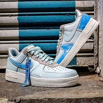 """Trendsetter Nike Air Force 1 Low """"Devin Booker"""" Women Men Fashion Casual Low-Top Old Skool Shoes"""
