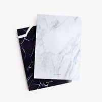 Marble Blank Notebook