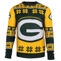 """Green Bay Packers Official Men's NFL """"Big Logo"""" Sweater"""