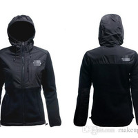 HOT 9 colors New The Women Fleece Apex Bionic SoftShell Jacket Winter Coats Outdoor Sports Clothing Coats S-XXL Black Can Mix Lowest Price