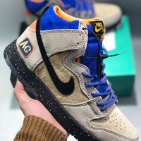 "Acapulco Gold x Nike SB dunk high""Mowabb"" cheap Men's and women's nike shoes"