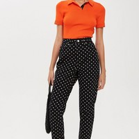 MOTO Polka Dot Mom Jeans - Jeans - Clothing