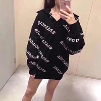 Balenciaga Fashion Knit Top Pullover Sweater