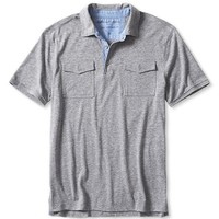 Banana Republic Mens Vintage Chest Pocket Polo