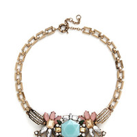 ModCloth Statement Notable Glamour Necklace