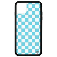 Checkers iPhone 11 Pro Max Case | Blue