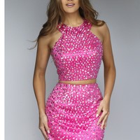 Sherri Hill 32314 Jeweled 2 Piece Cocktail Dress